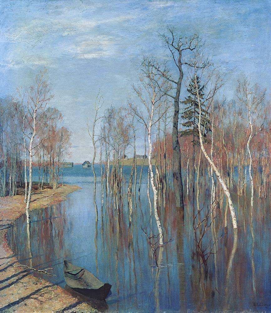 伊萨克·列维坦非同一般的风景画