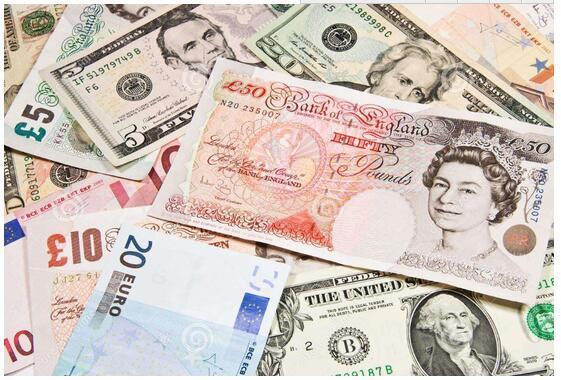 主要有:美元,英镑,日元,法国法郎等.图片