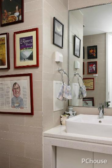 小户型卫生间装修效果图图片三