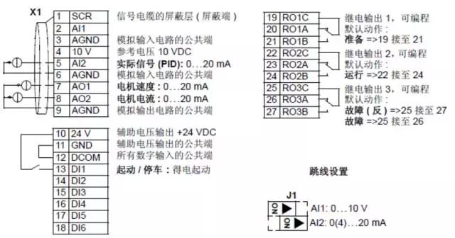 abb变频器acs510恒压供水一拖一/一拖三指导