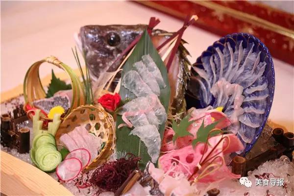 刺身冰雕图片_美极了!刺身你吃过,但这么多海鲜刺身姿造作品你一定没见过!