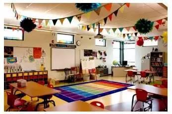 如何才能把有限的教室布置得既实用又美观呢?图片