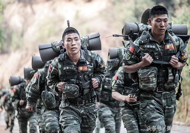 中国武警机动师_中国武警部队的八个警种划分
