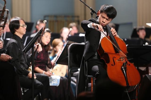 特邀少年大提琴演奏家陈亦柏精彩演绎《鸿雁》