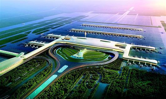 天河机场T3航站楼月底启用 光谷技术助力机场 可视化 指挥