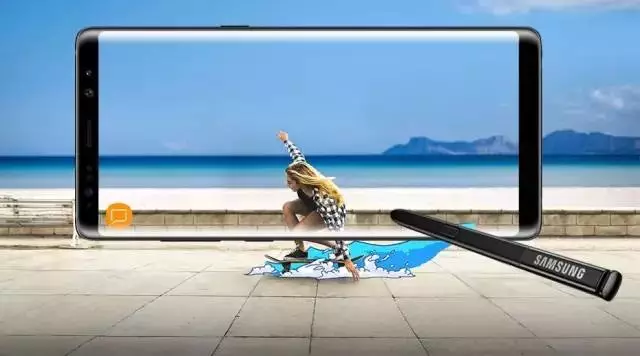 """智能手机行业迎来""""重磅嘉宾"""":细数三星Note 8创新七宗最"""