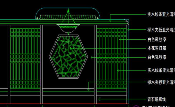 美容院装修中CAD图纸怎么看要注意哪些方面