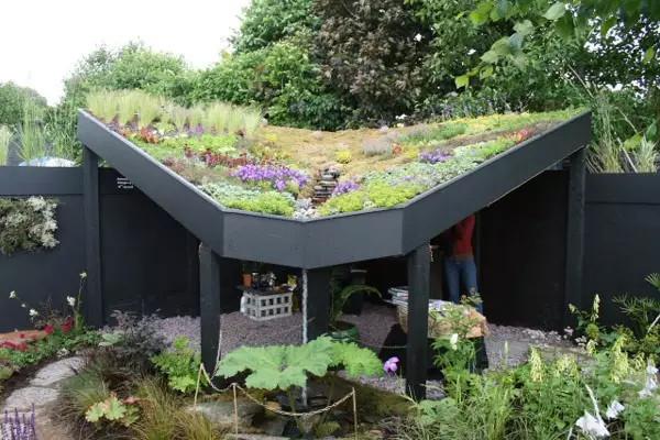 超美的屋顶花园,简直让人垂涎三尺