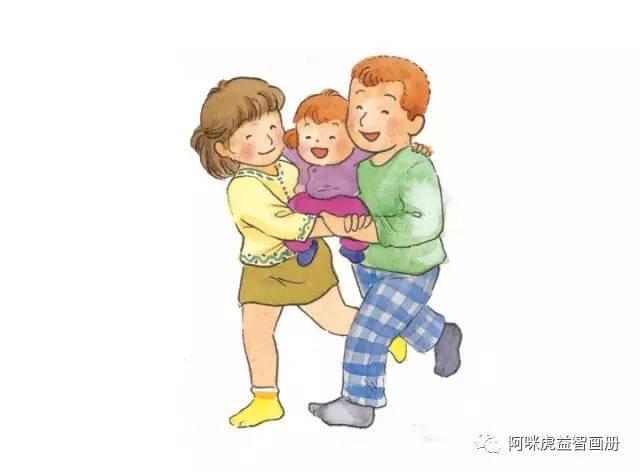 爸爸妈妈和宝宝_【亲子游戏】抬轿子