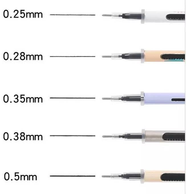【16.9元包邮 】80支子弹头笔芯 送2支中性笔