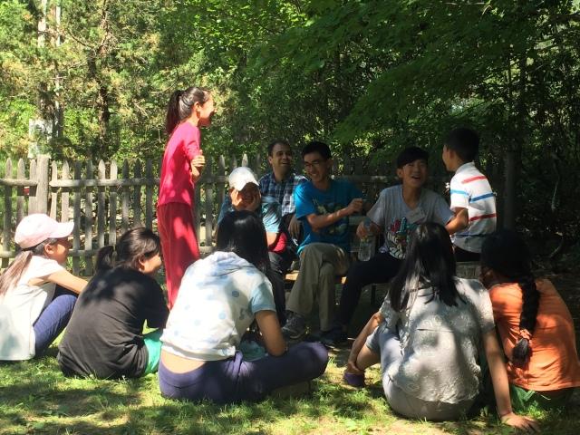 中文夏令营活动英语作文图片