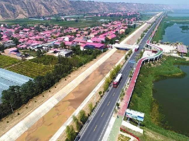 """北起府谷墙头的沿黄公路被称为""""中国一号公路""""今日正式开通!"""