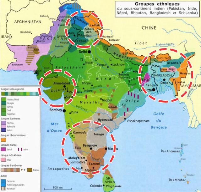 印度民族人口_印度人口