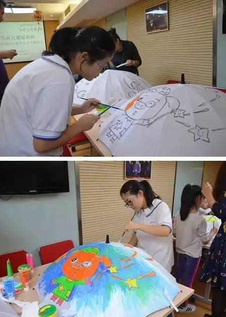 亲子diy手绘伞丨让雨天邂逅彩虹,现场教你儿童心理学
