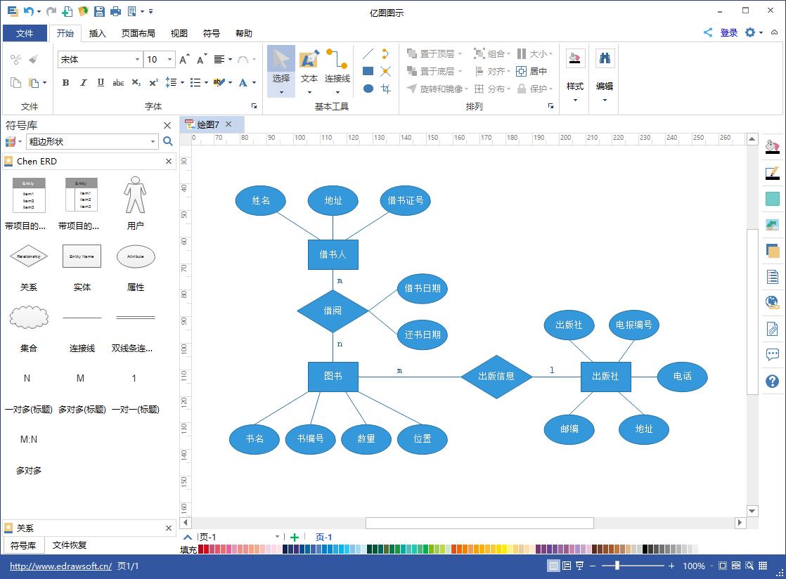 配置需求:   亿图e-r图绘制软件有哪些优势?