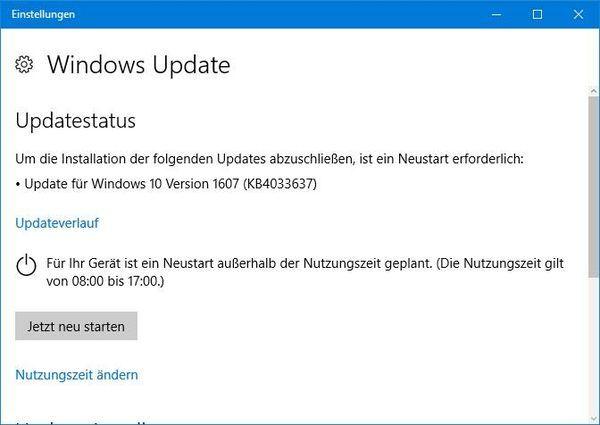 Windows 10周年更新迎神秘累积更新:还是没有更新日志的照片 - 2