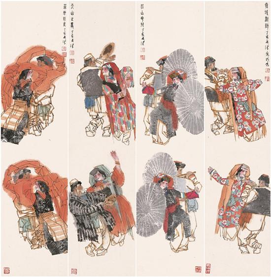 传承经典——中国当代书画八大家马西光