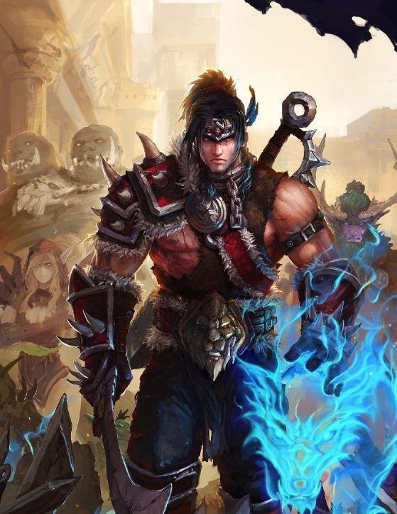 但是瓦里安强大的另一半却得以逃生,成为一名被称为洛戈什的传奇斗士