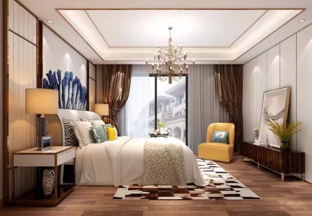 汇华国际娱乐平�_480平轻奢现代风格装修,娱乐区个性的吊顶成为美丽的