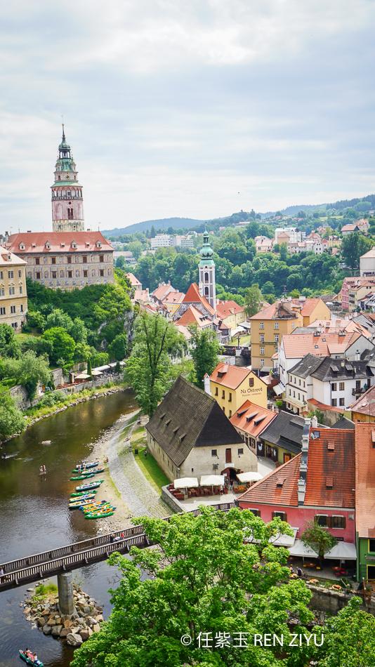 打卡世界最美小镇 美哭了的捷克CK小镇