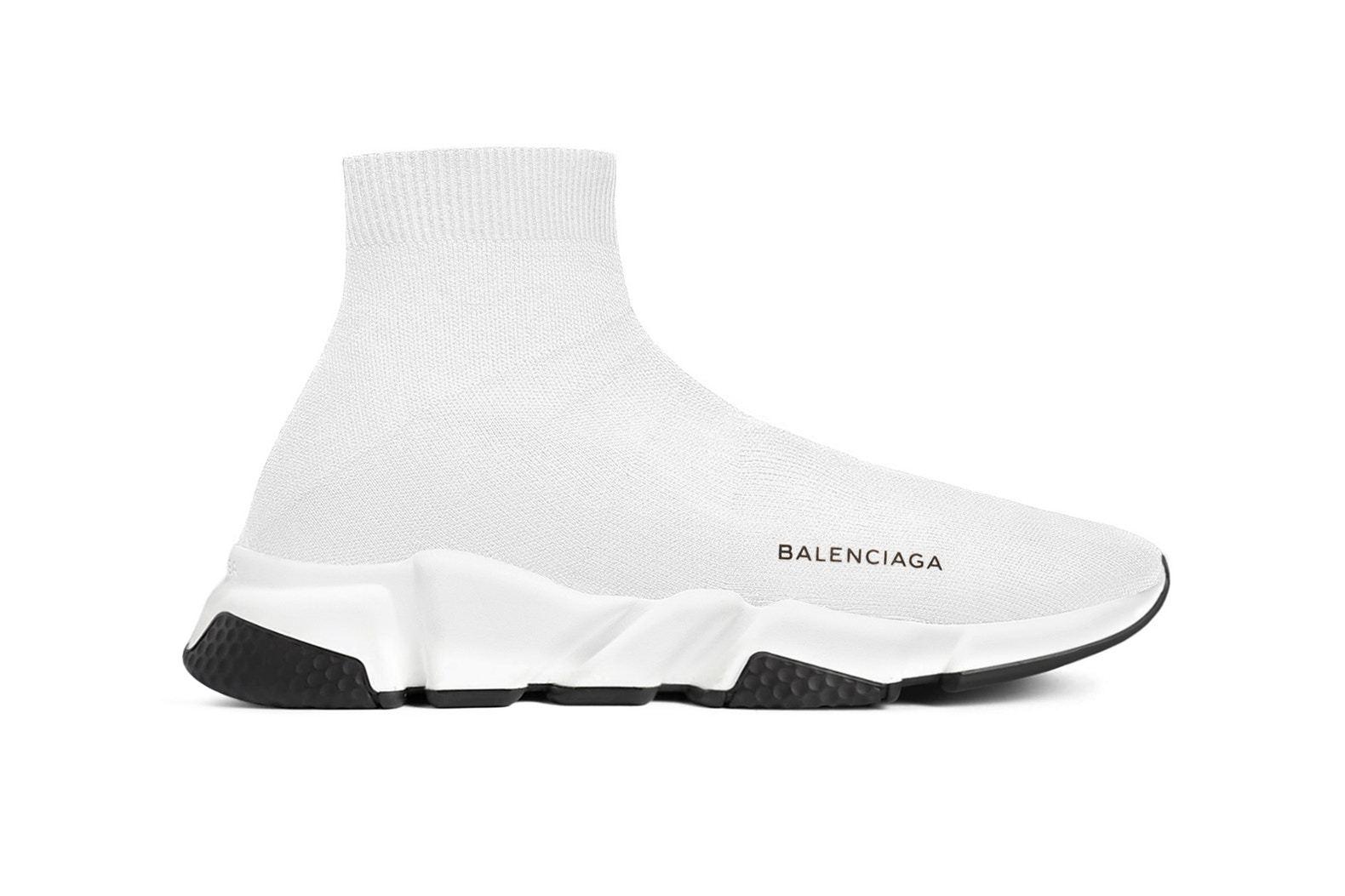 5款眼前一亮的BalenciagaSpeedTrainer全新配色,总有
