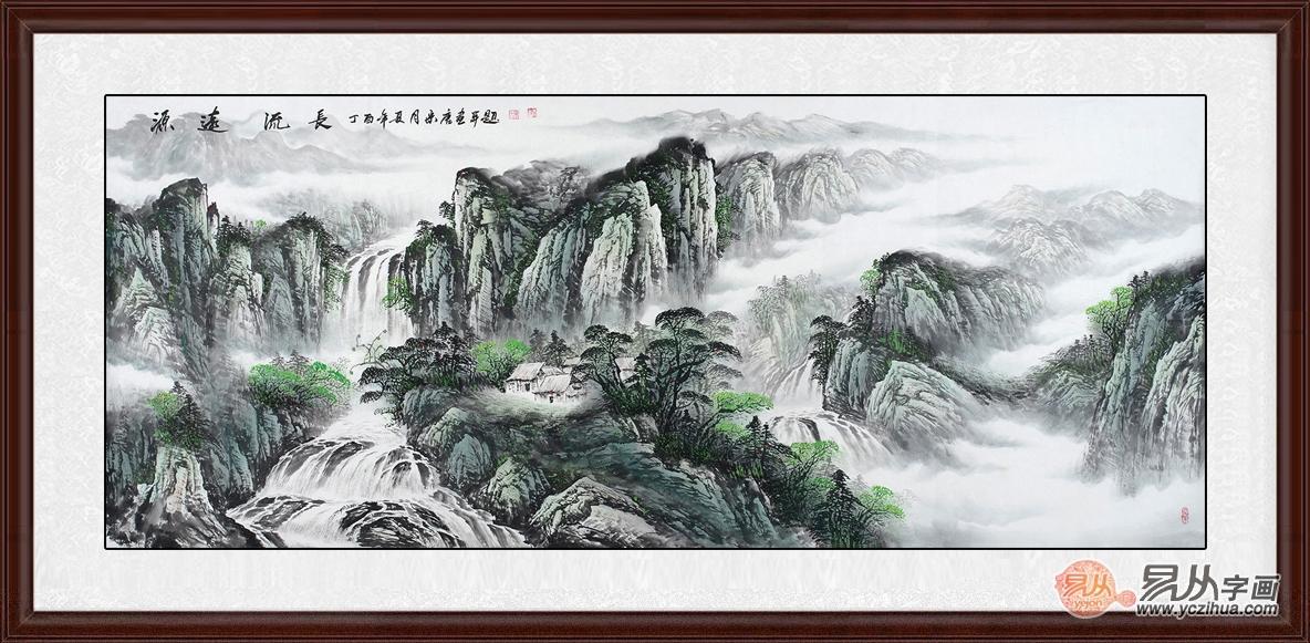 当代山水名家宋唐山水画作品赏析图片