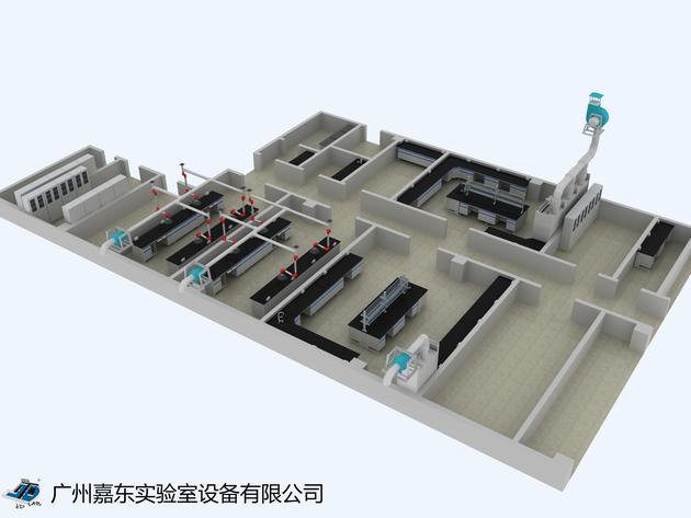 2,实验室建筑设计义乌公司建筑设计土木图片