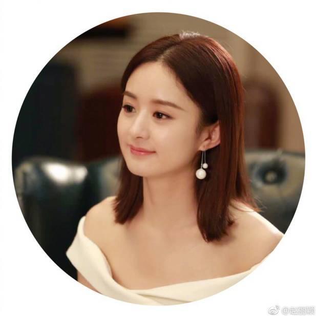 赵丽颖剪短发造型超惊艳,减龄显脸小美呆了