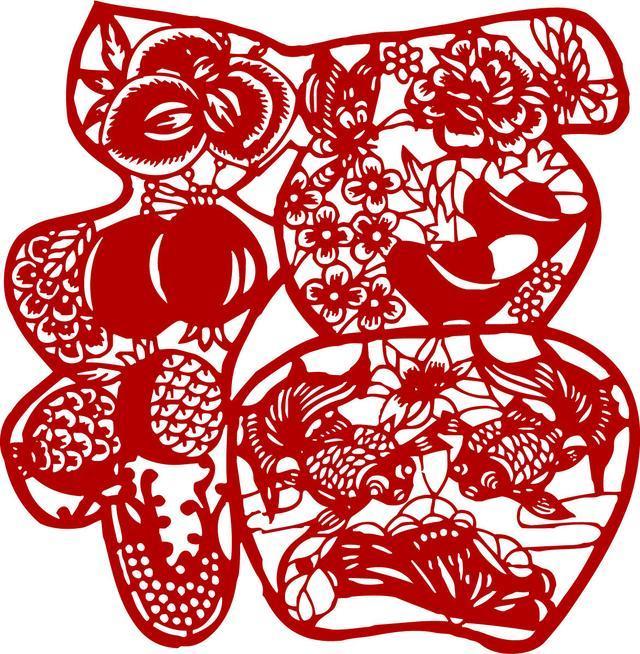 中国传统民间工艺 剪纸