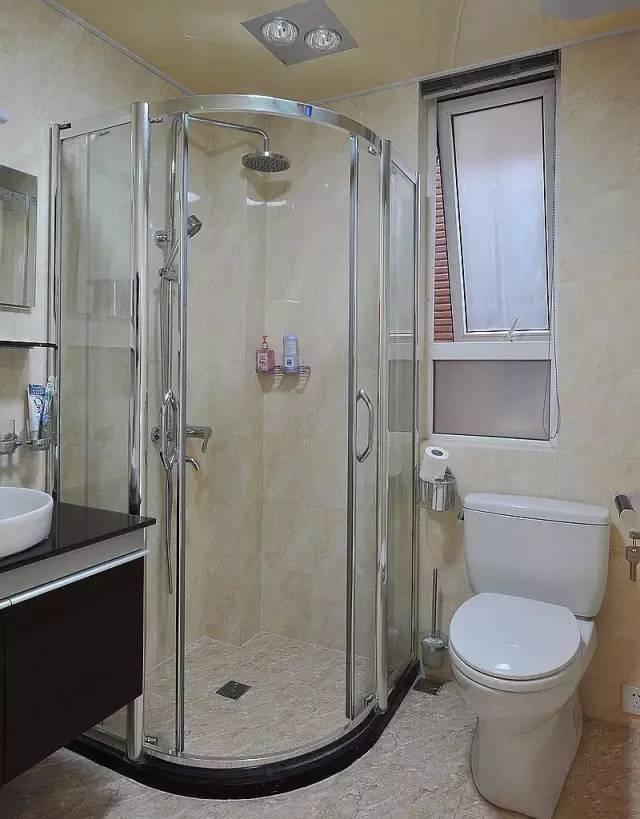 干湿分区小小卫生间也可以!