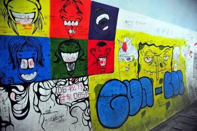 色彩斑斓,形式各异,抽象的,动漫人物,卡通头像等等.