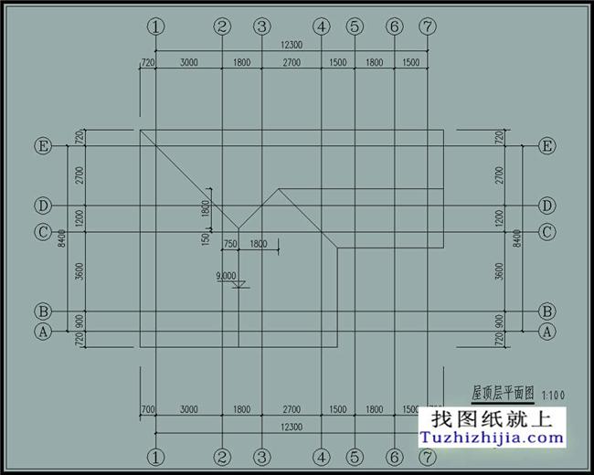 科技 正文  图纸详情介绍: 建筑层数:二层 占地尺寸:面宽12.