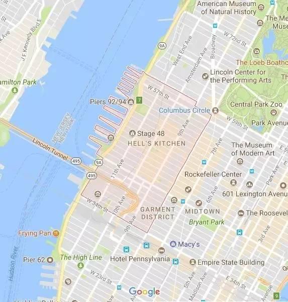 曼哈顿地狱厨房房价