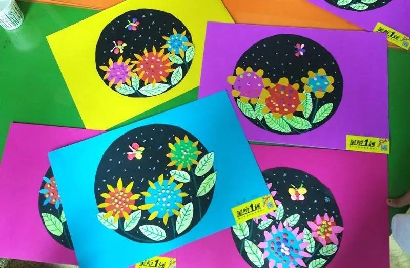 创意线描装饰画 大师造型班(10-11岁) 大师创作班(12-13岁) 11岁图片