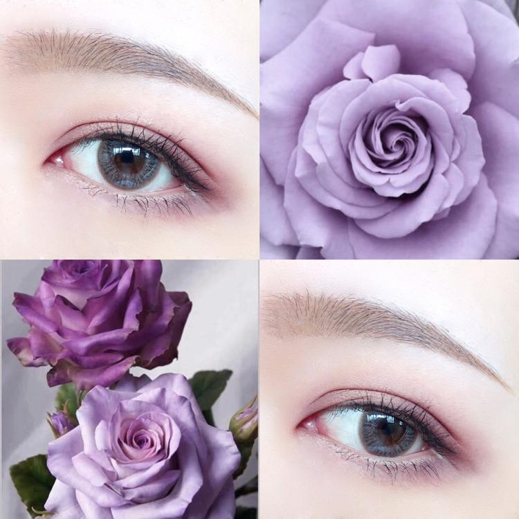 她把日落画在眼睛上还有火烧云、玫瑰花这些眼妆美到犯规!!
