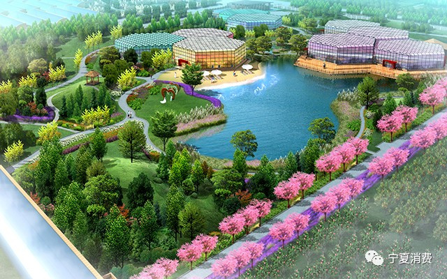 银川凤凰花溪谷生态农业休闲旅游观光园