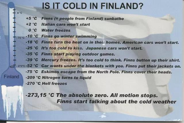 你以为芬兰人很高冷,其实芬兰整个国家都是段子手体质
