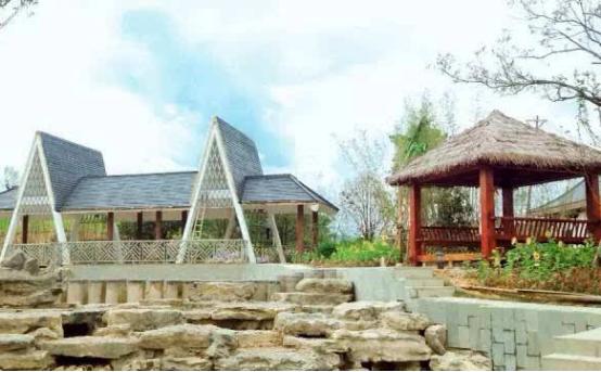 广西梧州附近又添新景 一园阅尽广西14城市特色风光