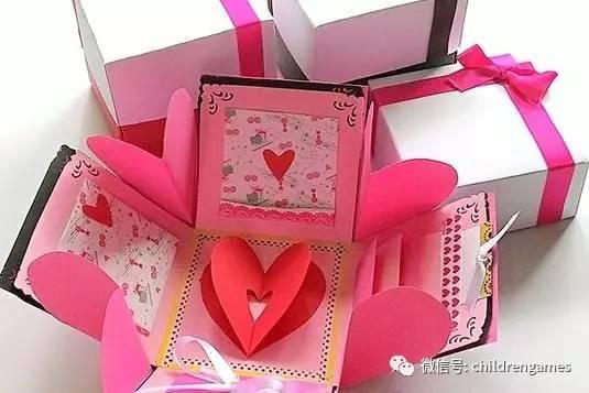 教师节送礼物送贺卡?还不如送一个手工惊喜盒子图片
