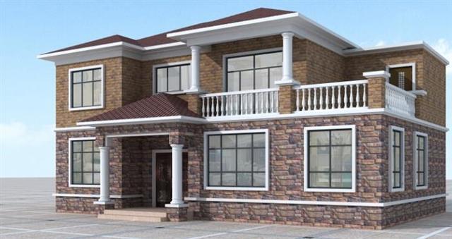 14米×14米房子设计图