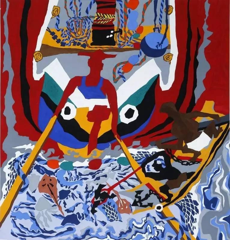 本次画展我定海渔民画作者积极创作,踊跃参选,通过初评,复评,最终舟山图片