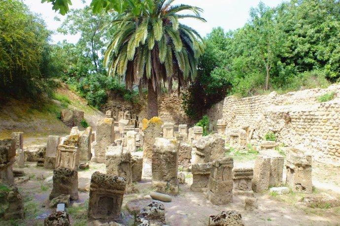 历尽沧桑的迦太基城遗址