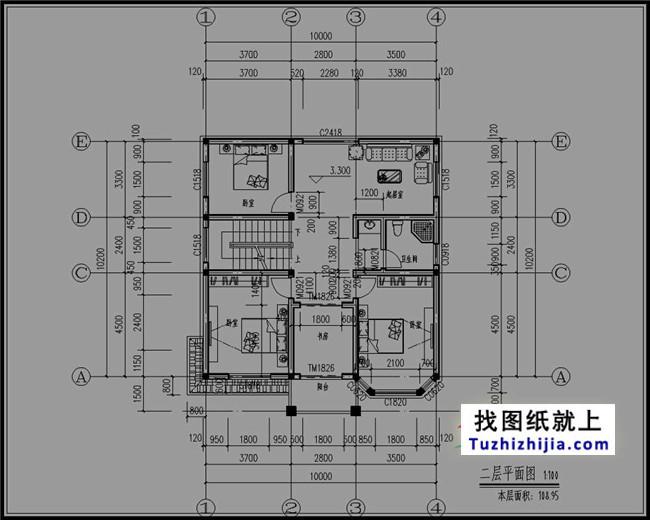 2017经典新农村三层住宅设计图-回老家自建别墅不是梦图片