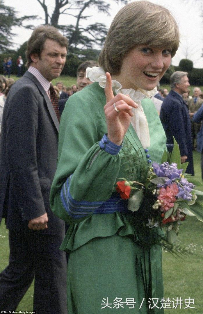 一些戴安娜王妃年轻时的老照片