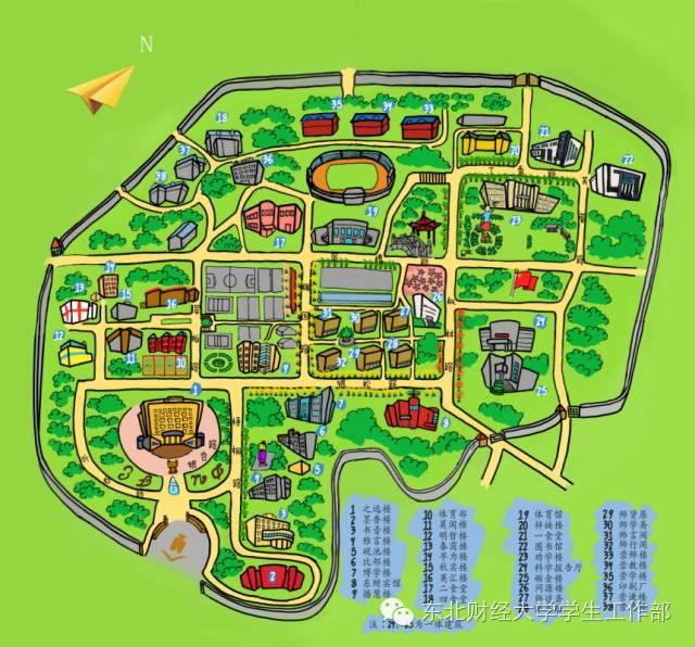 东财手绘地图