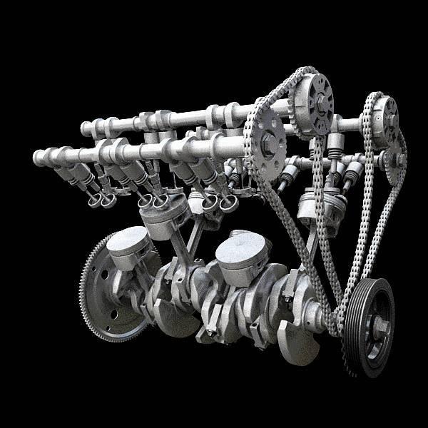 保时捷图标志和法拉利_这些汽车发动机原理动图,让你见识汽车的魅力!