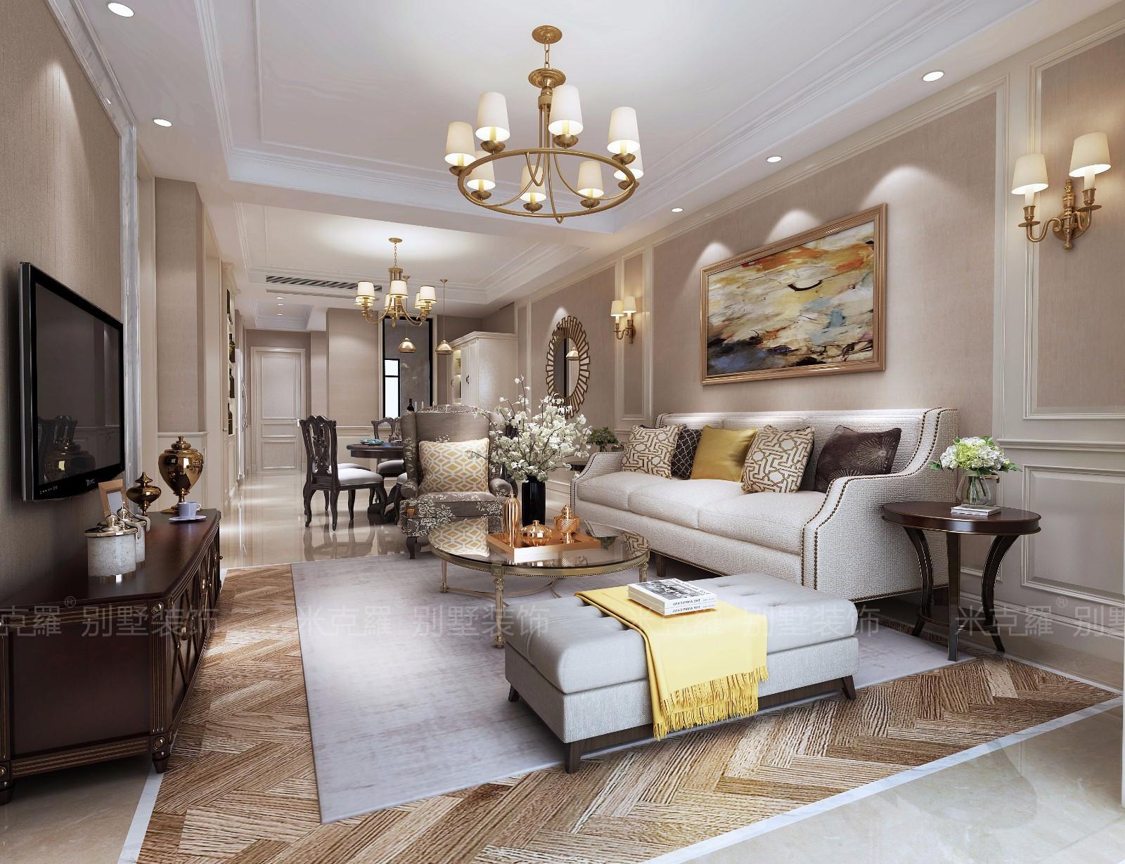 隐于闹市中——狮山御园现代美式大宅别墅生活