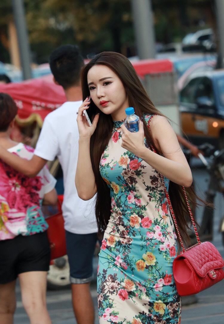 街拍美女�z(�y��9n�_街拍美女照片旗袍美女图片