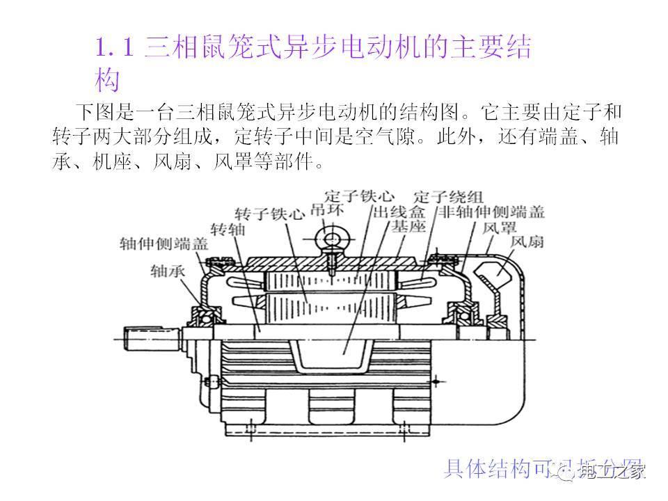 三相鼠笼型异步电动机