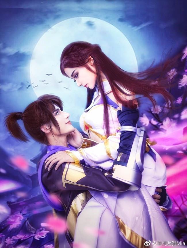 游戏cos丨王者荣耀紫霞仙子&至尊宝 王者一生所爱!